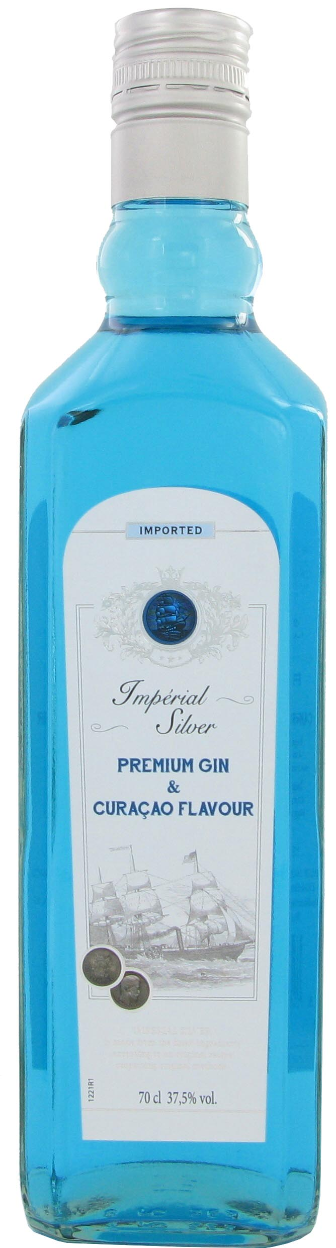 GIN IMPERIAL SILVER CURACAO FLAVOUR