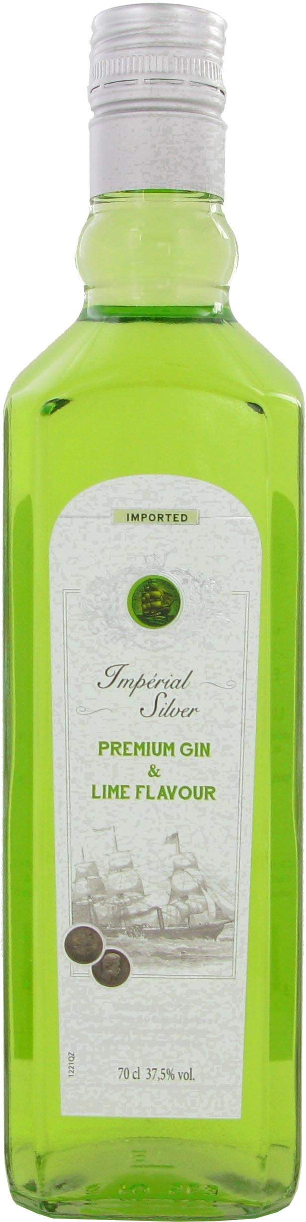 GIN IMPERIAL SILVER LIME 37,5 70 cl