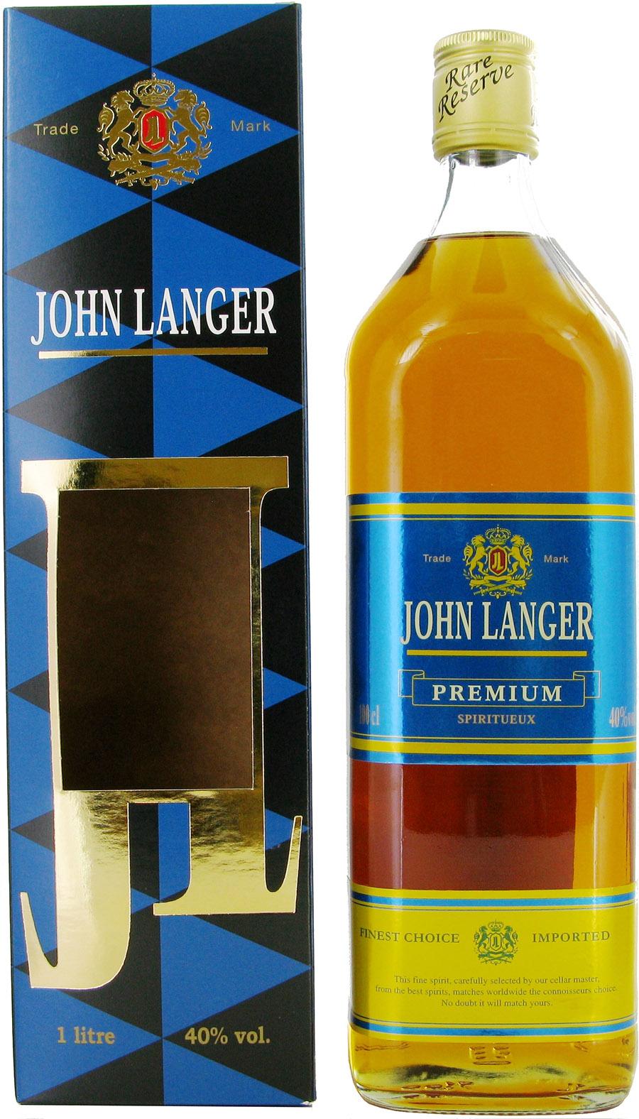 SPIRIT JOHN LANGER B 40 % - 1 L + COFFRET